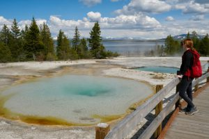 West Thumb Geysir Basin, Yellowstone National Park